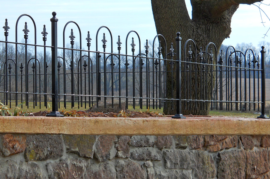 Decorative Wrought Iron Fencing Shelly Lighting