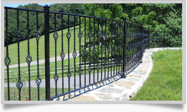 Custom Wrought Iron Fence Serving Chester Lancaster County Pa